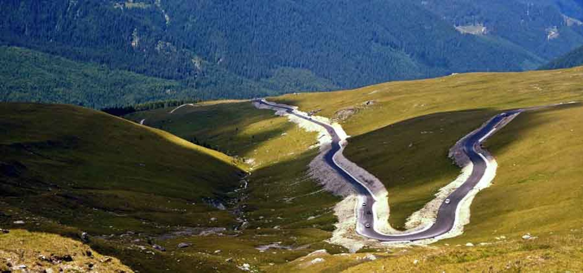 Transalpina, the highest road in Romania